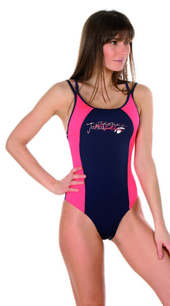 Women's Training One-Piece Graffiti Swimsuit, Jaked US Store