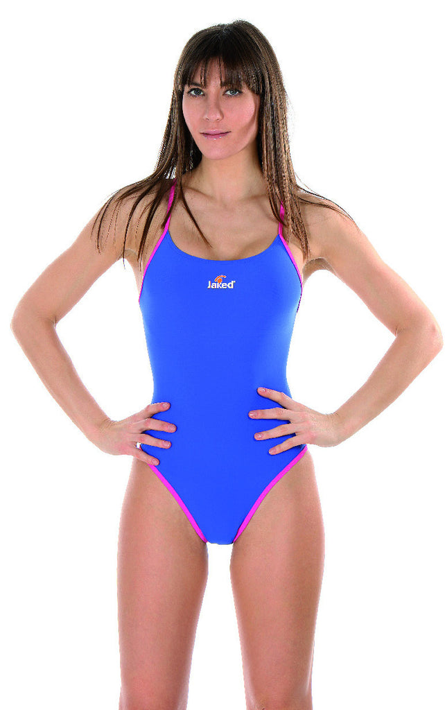 Women's Training One-Piece Free Swimsuit, Jaked US Store