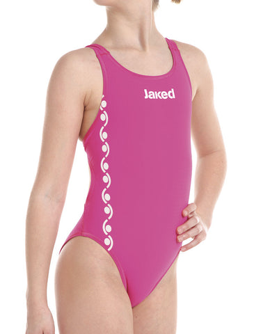 Girls Training One-Piece Roma Swimsuit, Jaked US Store