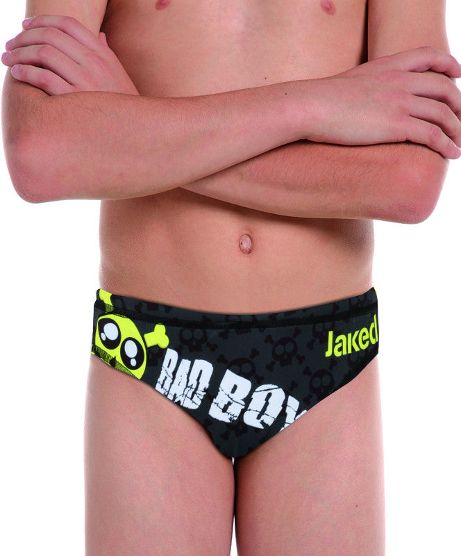 Boys Training Brief Bad Boy Swimsuit, Jaked US Store