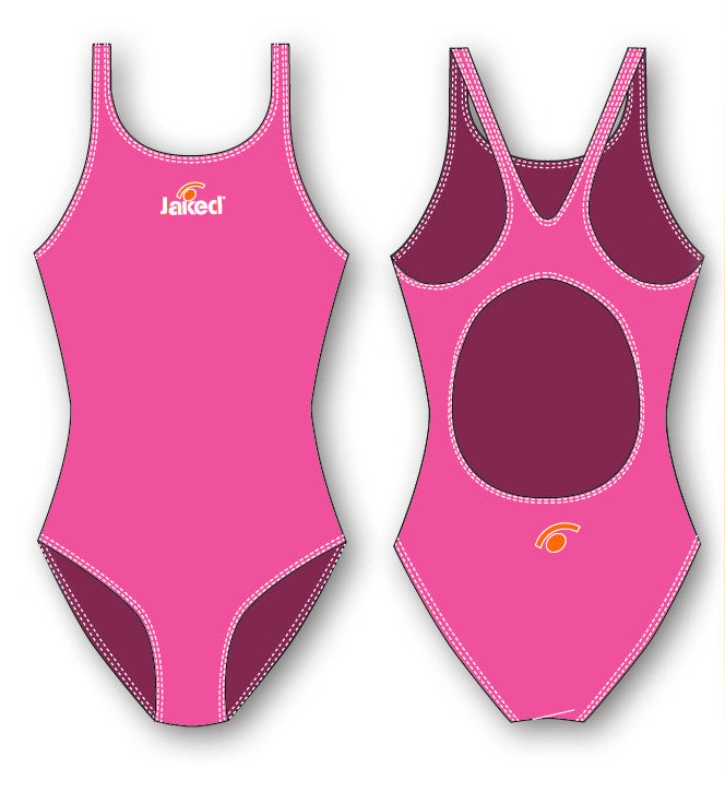 Girls Training One-Piece Shop Swimsuit, Jaked US Store