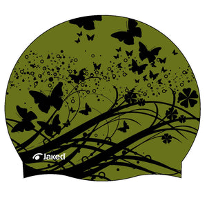 Flowers Swimming Cap, Jaked US Store