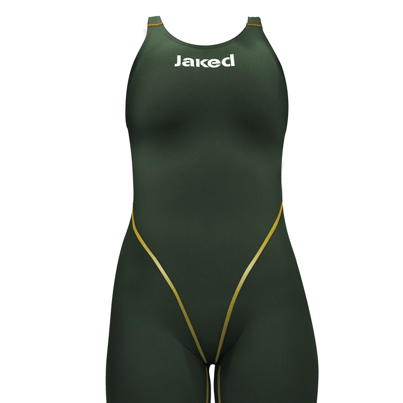 Girls' JALPHA Competition Swimsuit Open Back, Jaked US Store