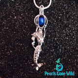 Sterling Silver Mermaid Pendant & Necklace