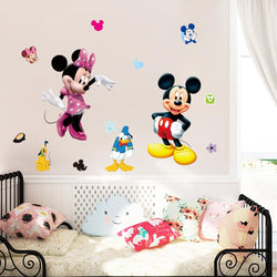 Mickey Mouse Cartoon Wall Stickers