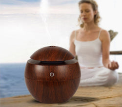 Mini Aromatherapy Humidifier, Aroma Diffuser with Color Changing LED for Office