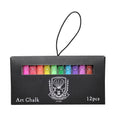 DUSTLESS ART CHALK - 12 COLOURS