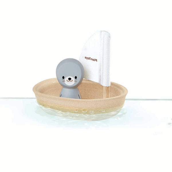 SAILING BOAT SEAL BATH TOY