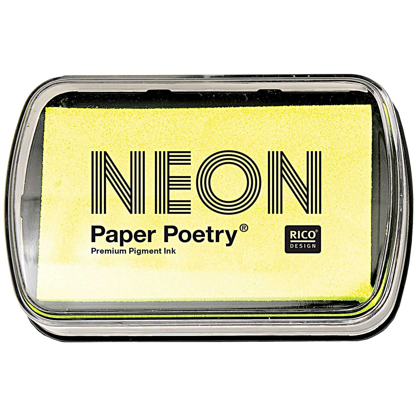 NEON YELLOW INK PAD
