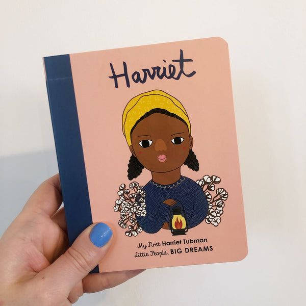 LITTLE PEOPLE, BIG DREAMS: HARRIET TUBMAN - BOARDBOOK