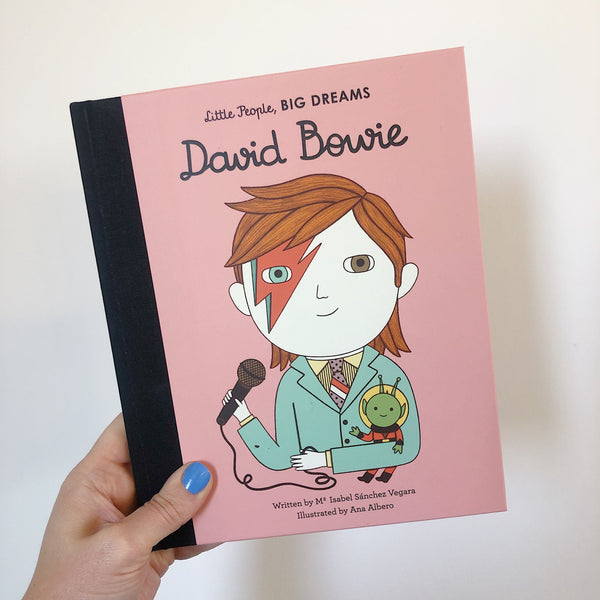 LITTLE PEOPLE, BIG DREAMS: DAVID BOWIE - HARDBACK