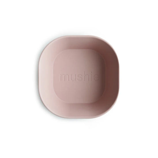 DINNER BOWL SQUARE SET OF 2 - BLUSH