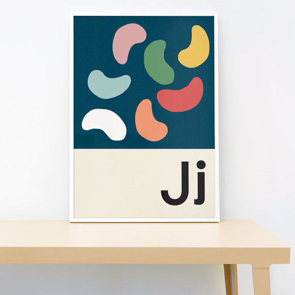 J IS FOR JELLYBEANS PRINT