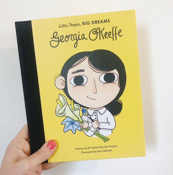 LITTLE PEOPLE, BIG DREAMS: GEORGIA O'KEEFE - HARDBACK