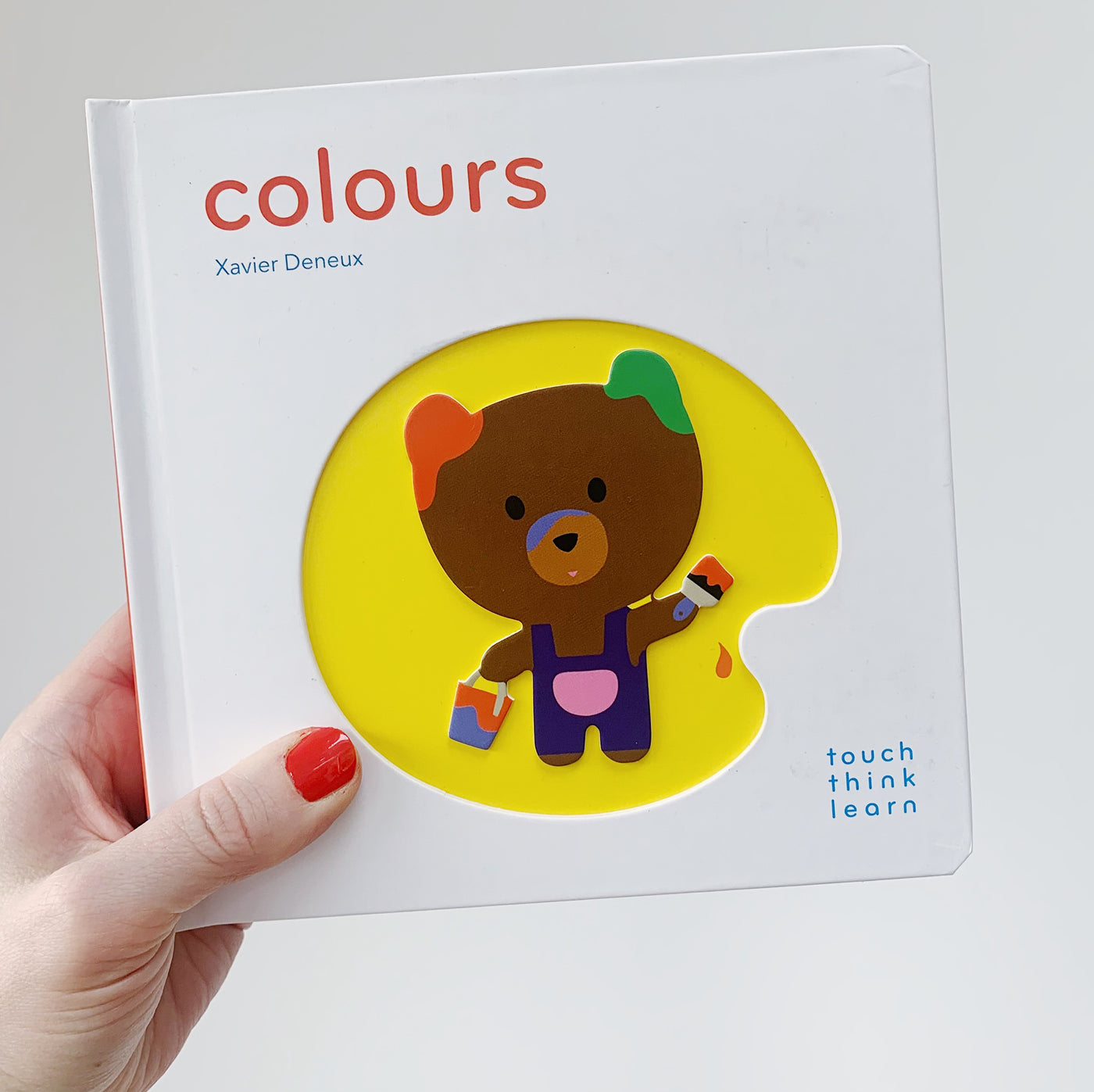 COLOURS: TOUCH, THINK, LEARN
