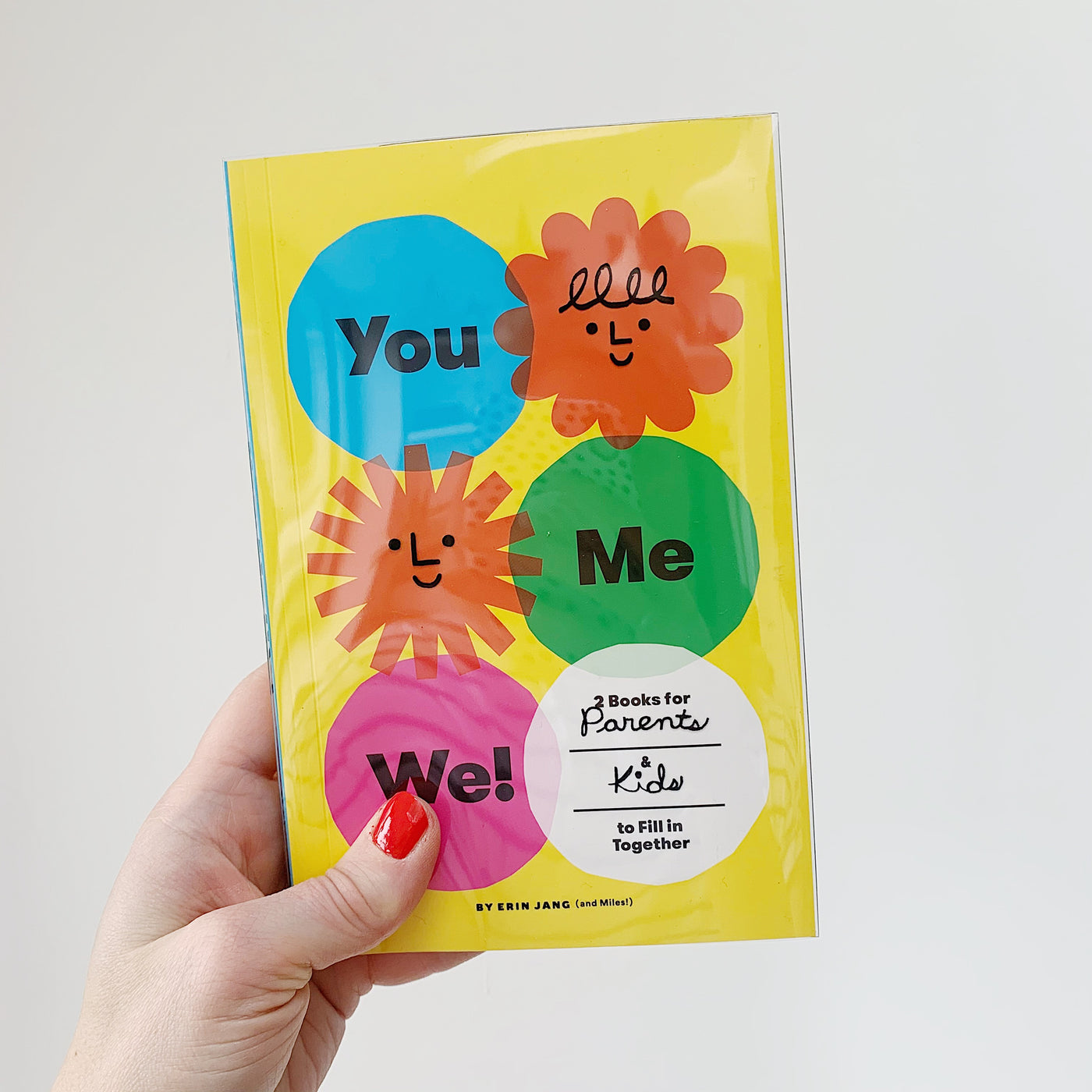 YOU, ME, WE: 2 BOOKS FOR PARENTS + KIDS TO FILL IN TOGETHER