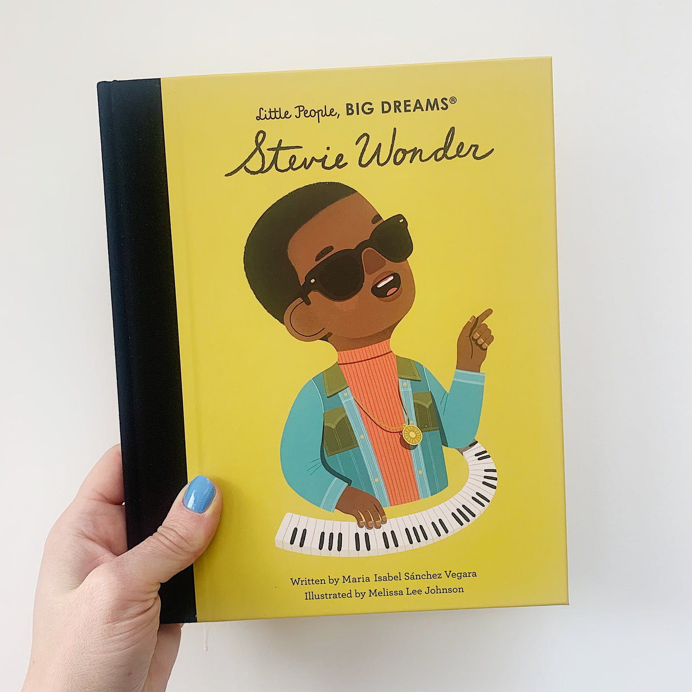 LITTLE PEOPLE, BIG DREAMS: STEVIE WONDER - HARDBACK