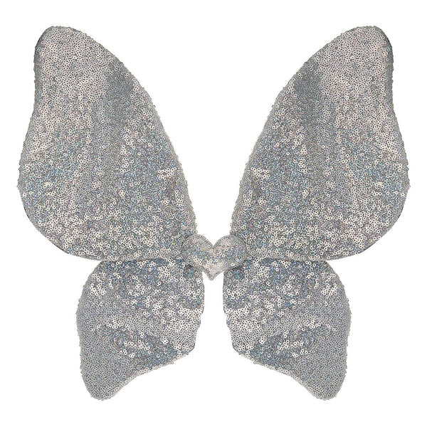 SILVER SPARKLE SEQUIN WINGS