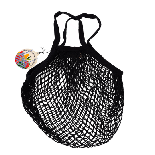 BLACK STRING BAG