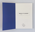 SHAPES NO.1 POCKET WEEKLY PLANNER