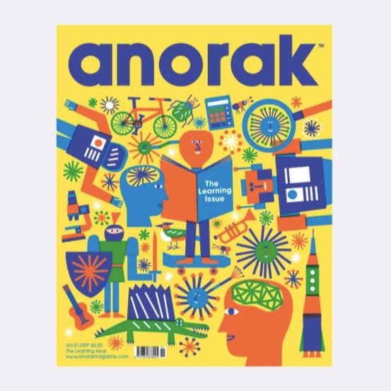 ANORAK MAGAZINE - LEARNING VOL.51