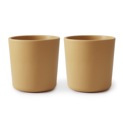 CUPS SET OF 2 - MUSTARD