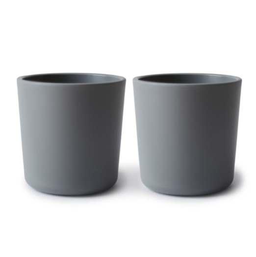 CUPS SET OF 2 - SMOKE