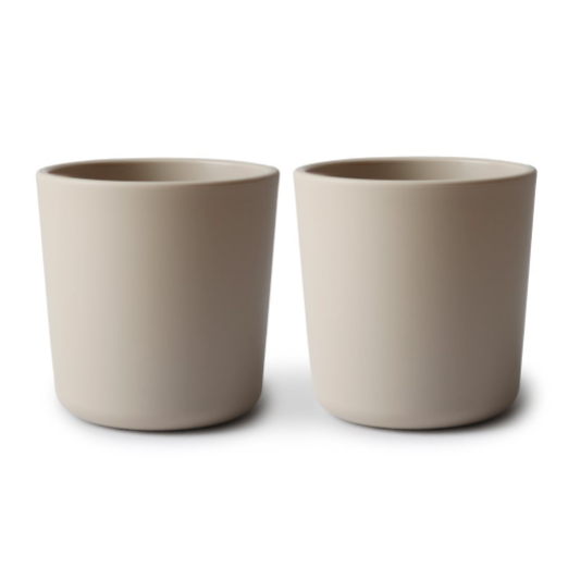 CUPS SET OF 2 - VANILLA