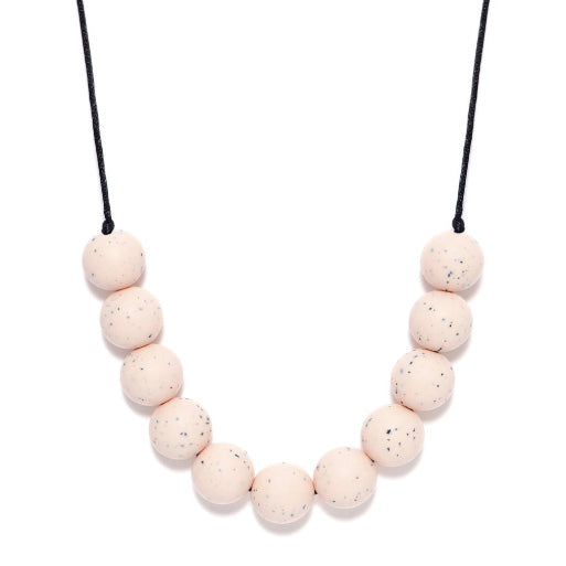 PEONY GRANITE TEETHING NECKLACE