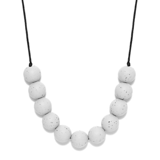 Glacier Granite Teething Necklace