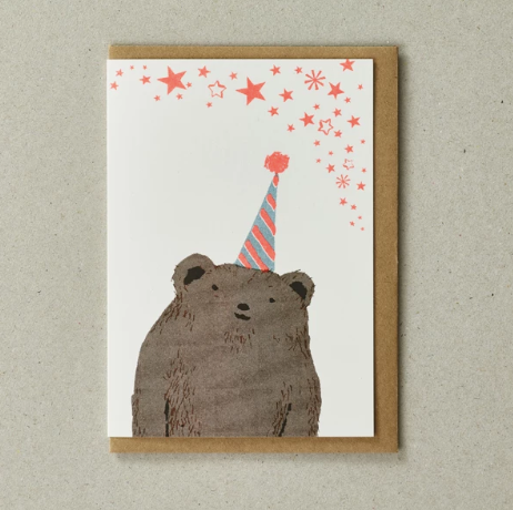RISO CARD - BEAR