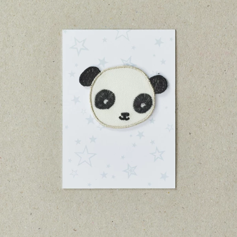 IRON ON PATCH - PANDA