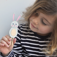 MAKE YOUR OWN BUNNY PEG DOLL KIT