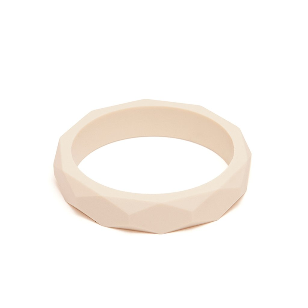 CREAM TEETHING BANGLE