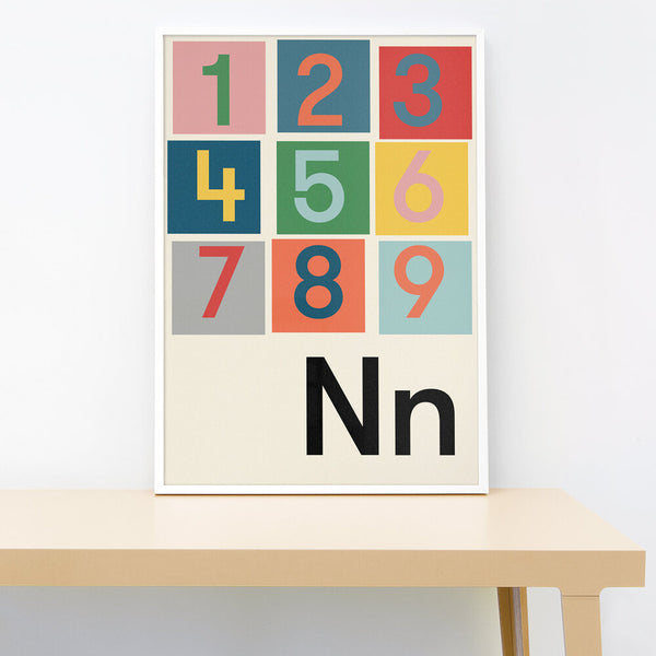 N IS FOR NUMBERS PRINT
