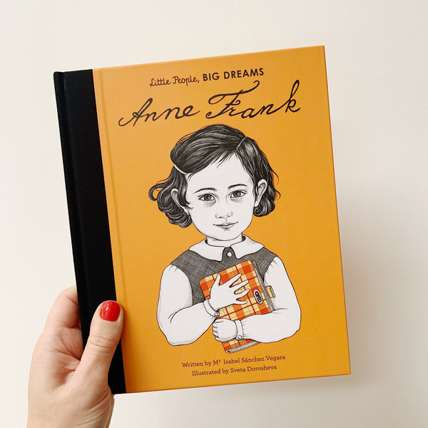 LITTLE PEOPLE, BIG DREAMS: ANNE FRANK - HARDBACK