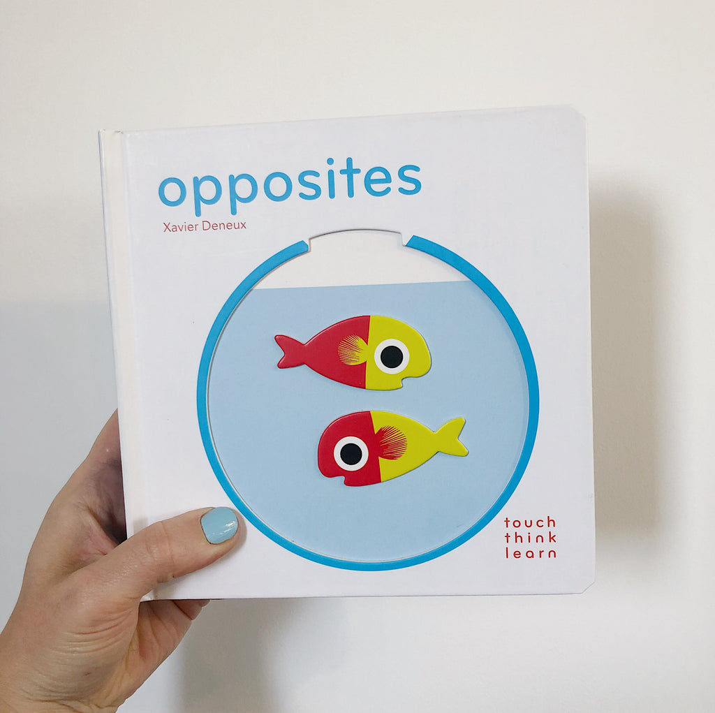 TOUCH THINK LEARN: OPPOSITES (BOARD)
