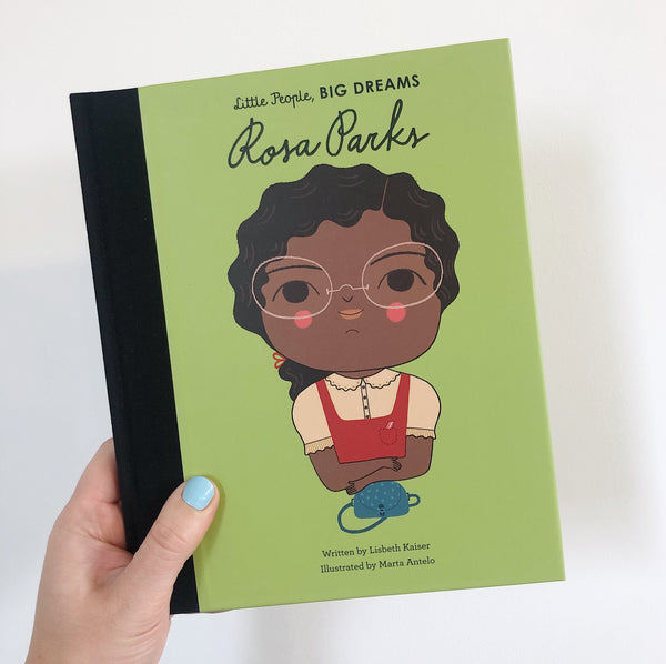 LITTLE PEOPLE, BIG DREAMS: ROSA PARKS - HARDBACK