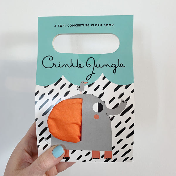 CRINKLE JUNGLE - BABY'S FIRST SOFT BOOK