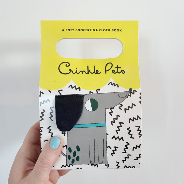 CRINKLE PETS - BABY'S FIRST SOFT BOOK