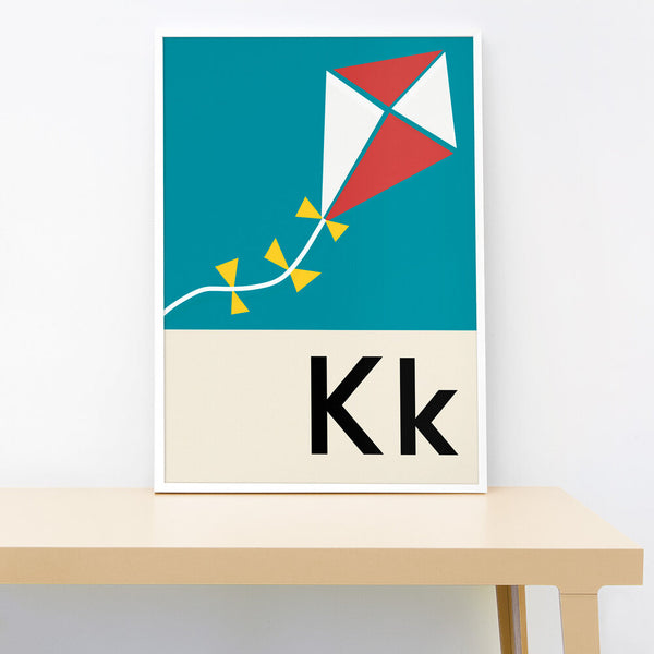 K IS FOR KITE PRINT