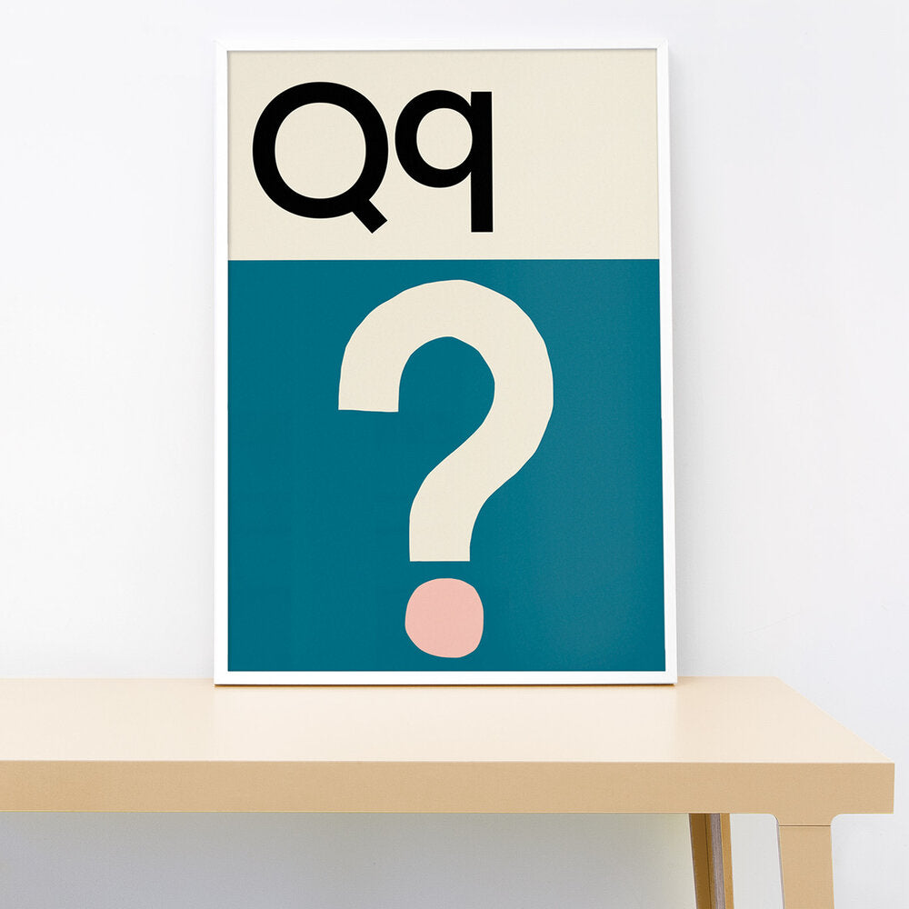 Q IS FOR QUESTION PRINT