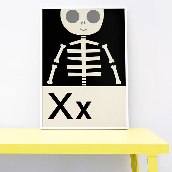 X IS FOR X-RAY PRINT