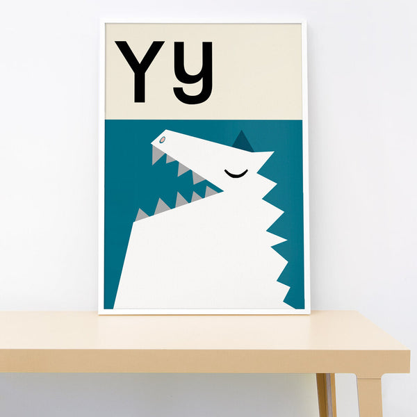 Y IS FOR YETI PRINT
