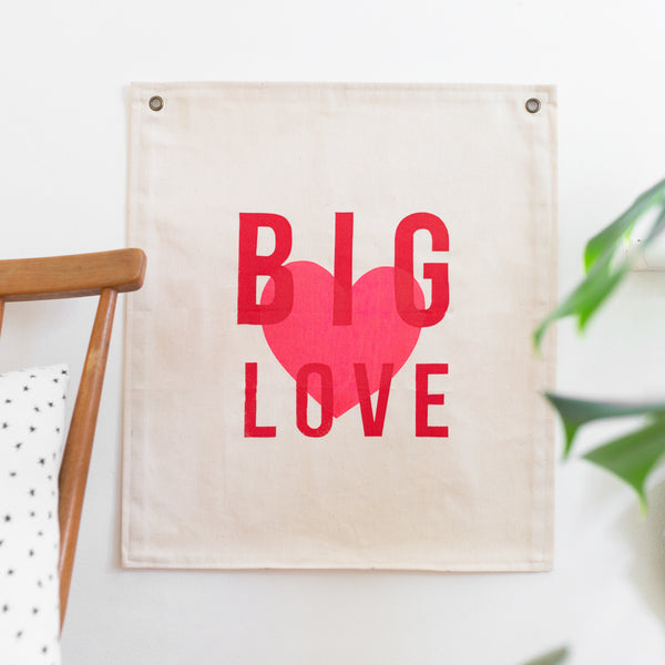BIG LOVE BANNER **MADE TO ORDER**