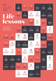 "66 LIFE LESSONS ""RED CLASSIC HOME"""