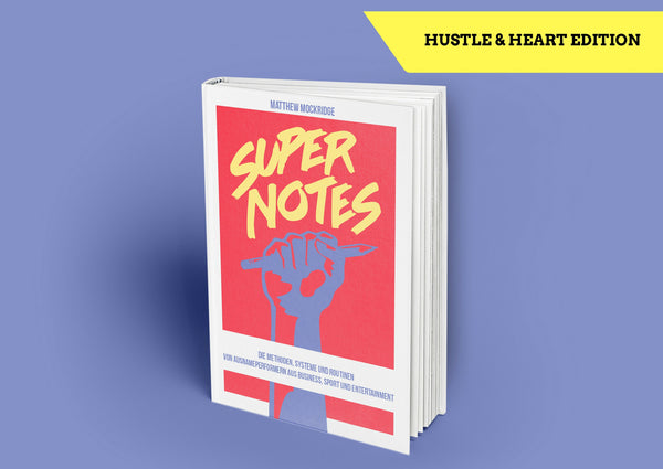 "SUPERNOTES ""HUSTLE & HEART"" EDITION"