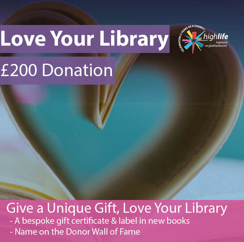 Love Your Library | £200 Donation