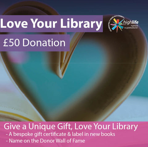 Love Your Library | £50 Donation