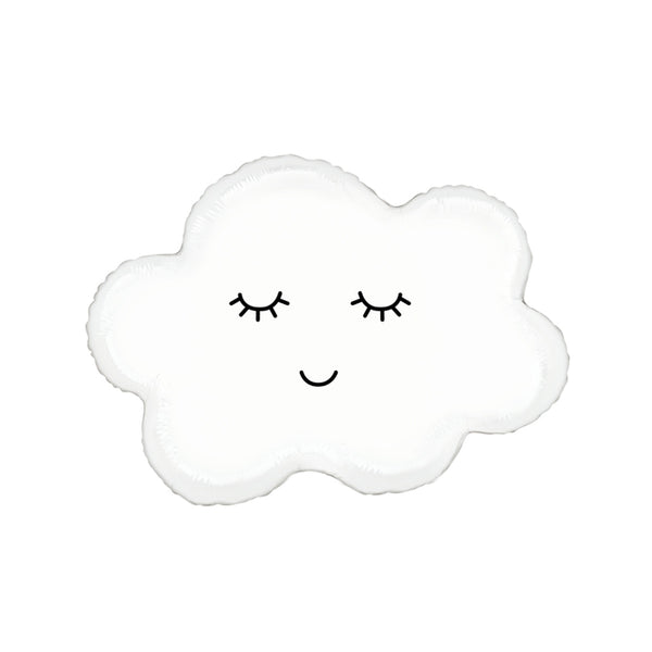 Cute Happy Cloud Foil Balloon  Balloons Betallic - Hello Party